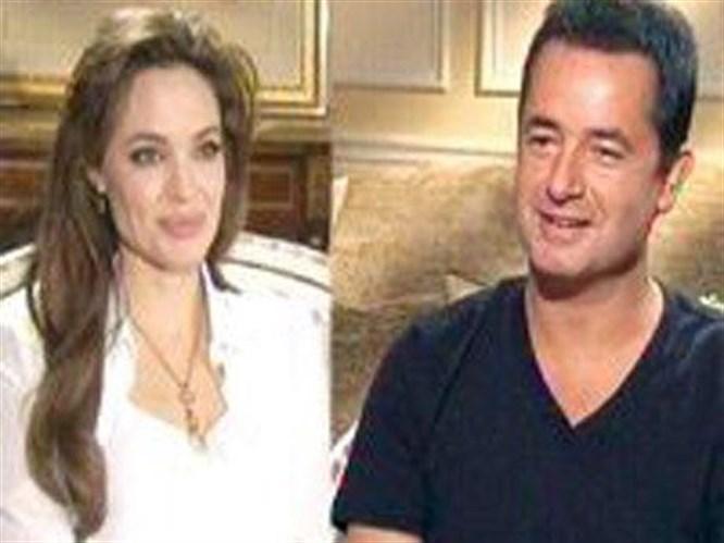 Acun, Jolie ile buluştu